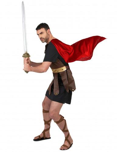 Costume da impavido gladiatore romano per uomo-1