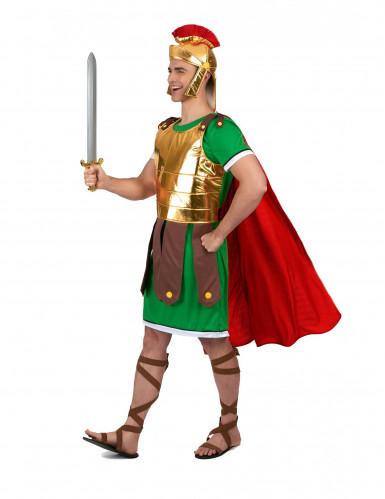 Costume da soldato romano verde per uomo-1