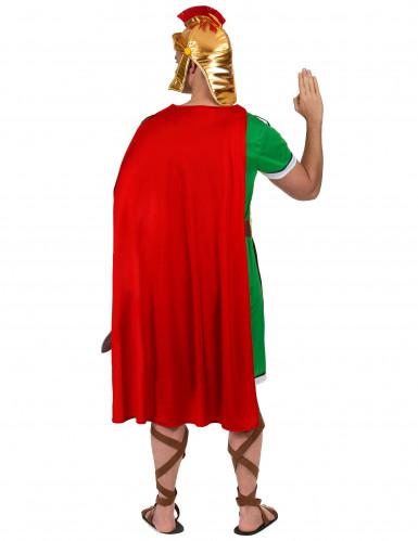 Costume da soldato romano verde per uomo-2