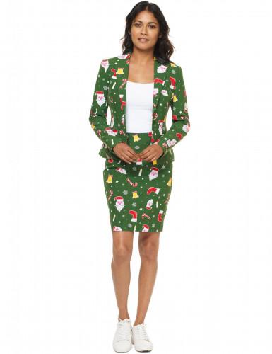 Costume Mrs Santaboss donna Opposuits™ Natale