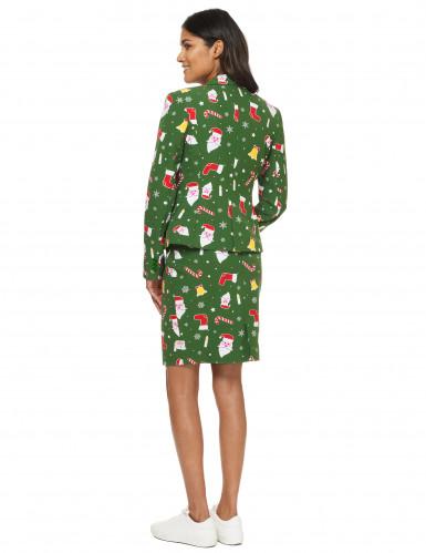 Costume Mrs Santaboss donna Opposuits™ Natale-2