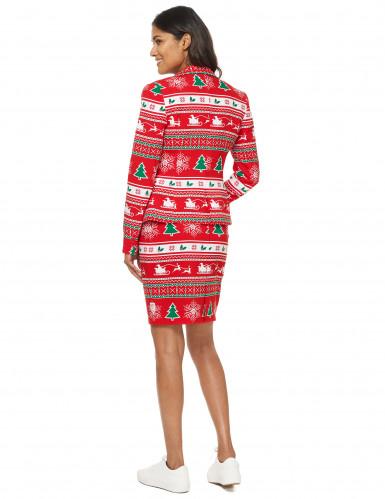 Costume Mrs. Winterwonderland donna Opposuits™ Natale-2
