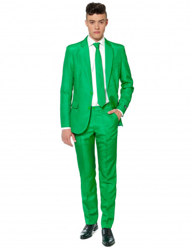 Costume Mr Solid verde uomo Suitmeister™