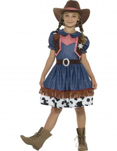 Costume da cowgirl per bambina