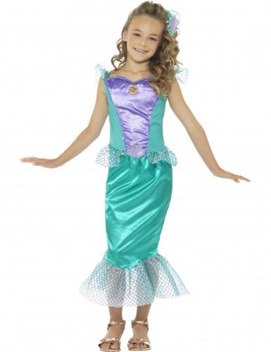 Costume da sirena elegante per bambina