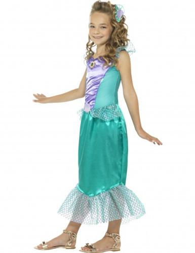 Costume da sirena elegante per bambina-2