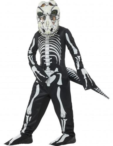 Vestito Tirannosauro scheletro bambino per Halloween
