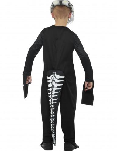 Vestito Tirannosauro scheletro bambino per Halloween-1
