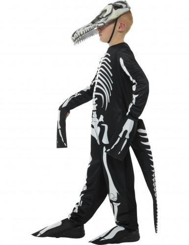Vestito Tirannosauro scheletro bambino per Halloween-2