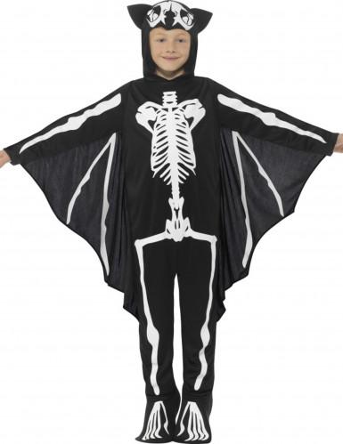 Vestito pipistrello scheletro bambino per Halloween