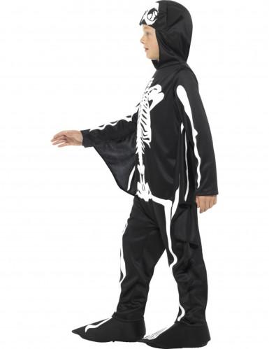 Vestito pipistrello scheletro bambino per Halloween-1