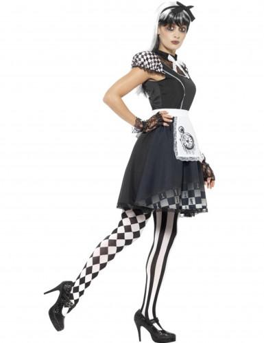 Costume miss delle meraviglie gotica per donna-1