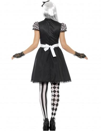 Costume miss delle meraviglie gotica per donna-2