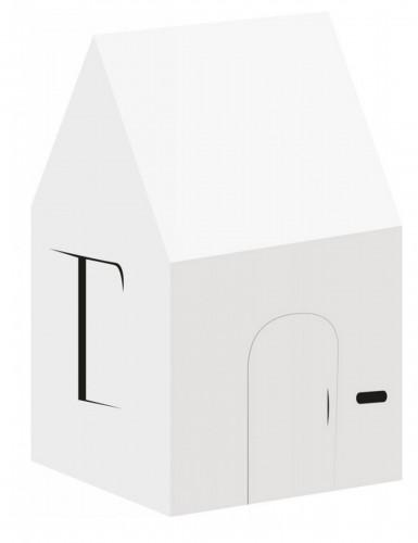Casa personalizzabile in cartone riclicato per bambino