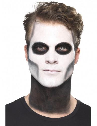 Kit trucco scheletro messicano Dia de los Muertos-1