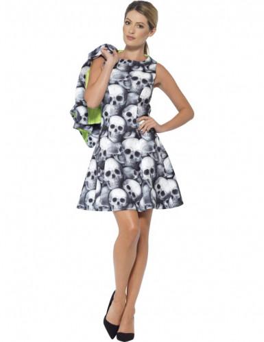 Costume Miss Teschio per donna halloween-1