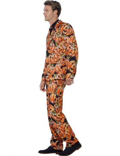 Costume Mr. Zucca Spaventosa per uomo halloween-2