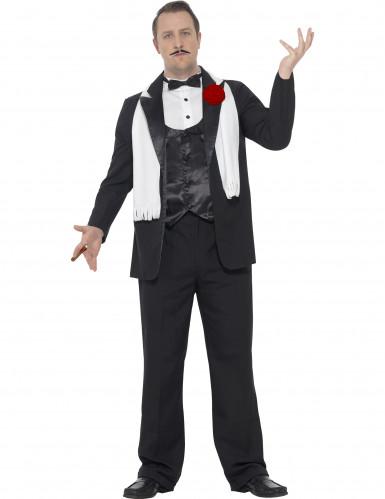 Costume da gangster della mafia anni 20 per uomo