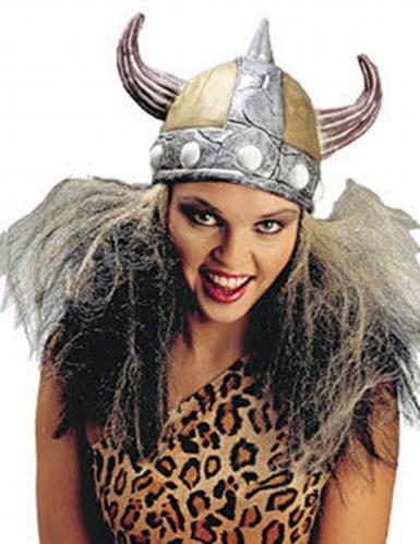 Casco da vichingo per donna con capelli: Cappelli,e ...