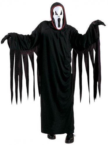 Costume fantasma nero per bambino halloween