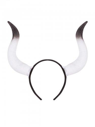 Cerchietto con corna da toro adulto