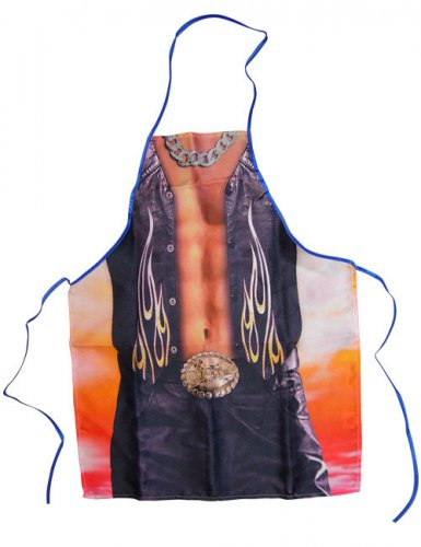 Grembiule cowboy sexy per uomo