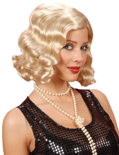 Parrucca bionda anni '20