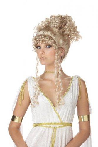 Parrucca bionda dea greca per donna