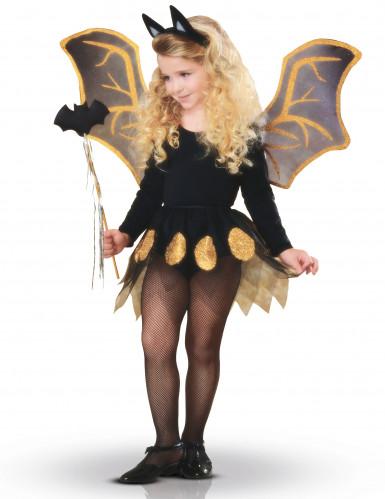 Kit Pipistrello nero e oro bambina