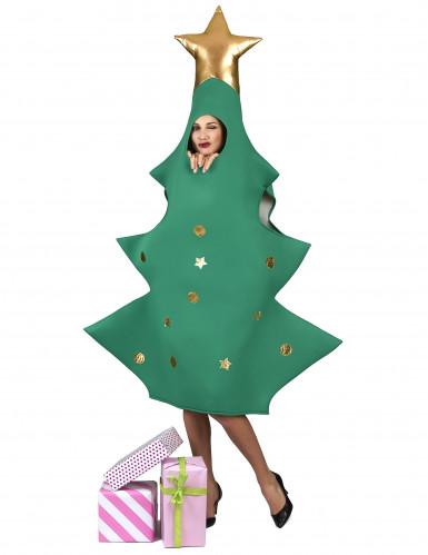 Costume albero di natale 3D per adulto-1