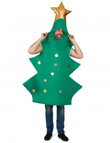 Costume albero di natale 3D per adulto-3