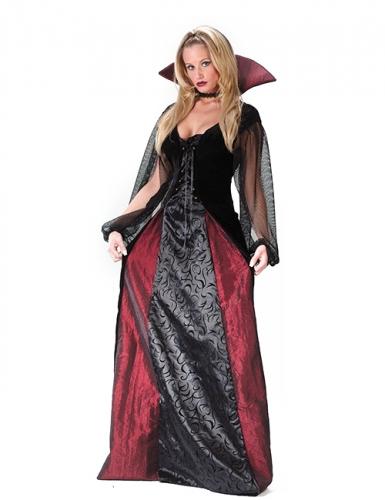 Costume da vampiro gotico per donna halloween
