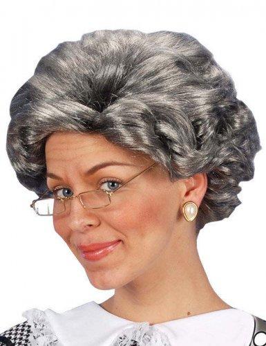 Parrucca da nonna per adulto