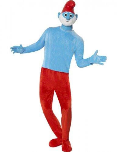 Costume deluxe Grande Puffo™ per uomo