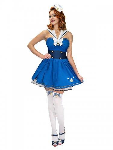 huge discount 60aaa c6166 Costume da marinaia pin-up per donna