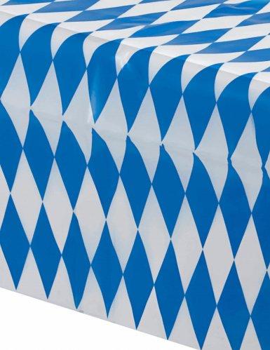 Tovaglia bavarese blu e bianca a scacchi oktoberfest-1
