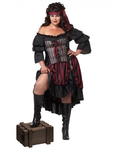 Costume da pirata taglia grande donna