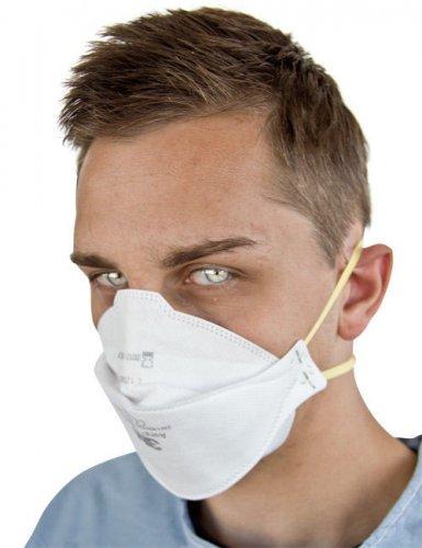 Maschera chirurgica bianca
