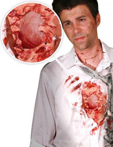 Ferita digitale cuore aperto per adulto halloween Morphsuits™