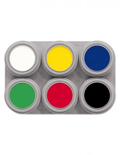 Grimas paleete di trucchi 6 colori 15 ml