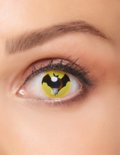 Lenti a contatto con pipistrello adulto halloween