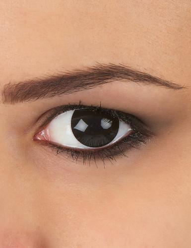 Lenti a contatto occhio nero adulto