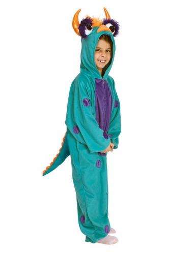 Costume mostro blu e viola da bambino