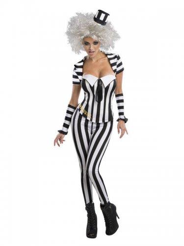 15b00e7434dd Costume da Beetlejuice™ sexy per donna: Costumi adulti,e vestiti di ...