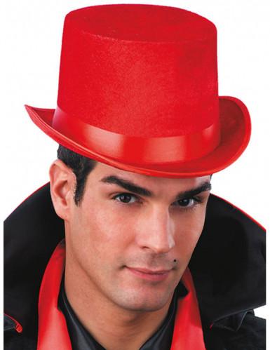 Cappello a cilindro rosso
