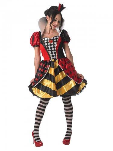 Costume Regina di cuore donna Alice nel paese delle Meraviglie™