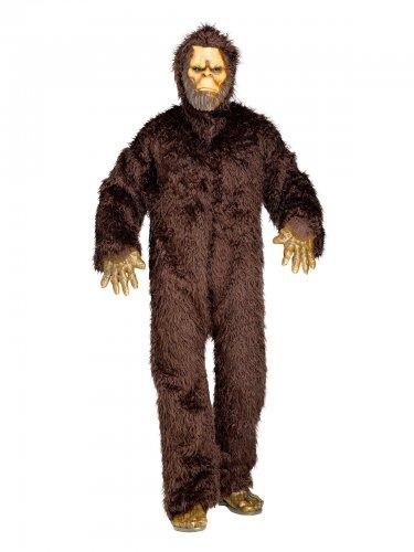 Costume da Yeti marrone per uomo