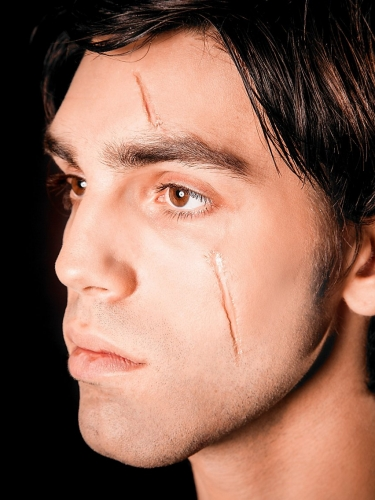 Trucco cicatrici Collodio