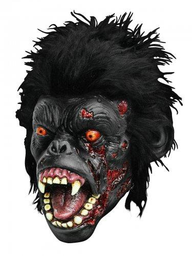 Maschera da gorilla zombie halloween