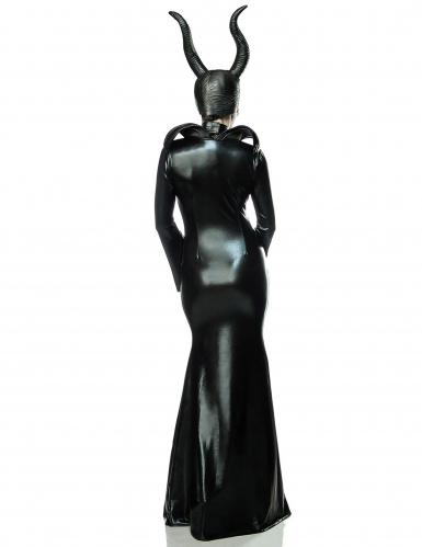 Costume lusso strega nera sexy per donna-1